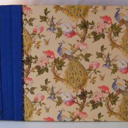 Wedding Guest Book : Beautiful Peacocks - Custom Made To Order