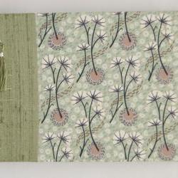 """Wedding Guest Book - Liberty Tana Lawn - Umbels and Florals - 8"""" x 6"""" - Ready to Ship"""